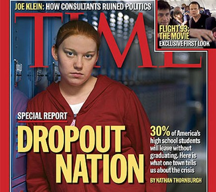 Dropout Nation Times cover