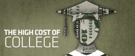 The high cost of college